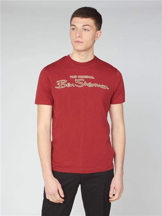 Red Signature Logo T-Shirt