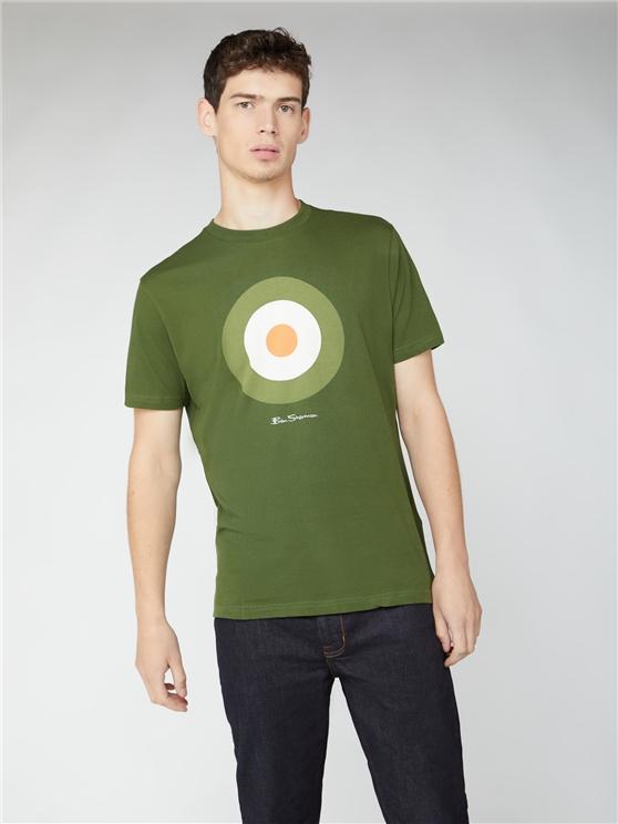 Green Signature Target Tee