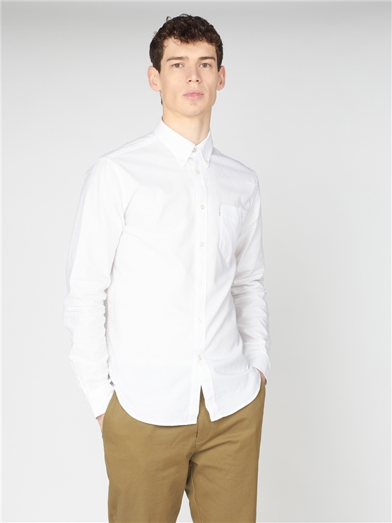 Ben Sherman Organic Cotton Oxford Shirt
