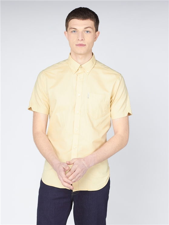 Organic Cotton Short Sleeve Oxford Shirt