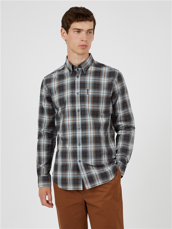 Textured Checked Shirt