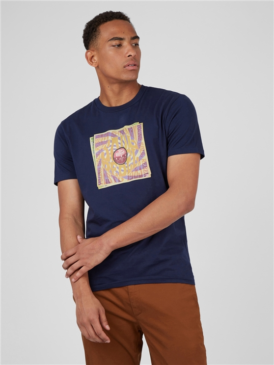 Marine Soul Rebel Record Sleeve T-Shirt