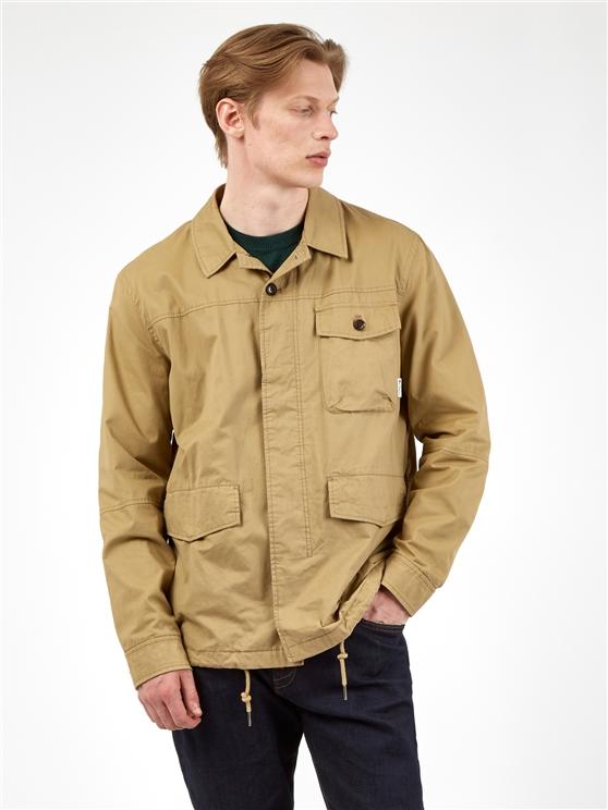 Cotton Workwear Style Jacket