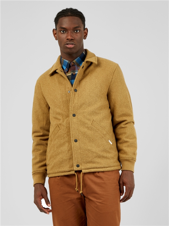 Wool Coach Jacket