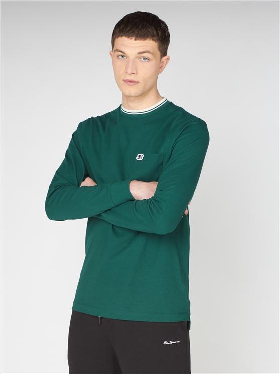Forest Green Long Sleeved T-Shirt