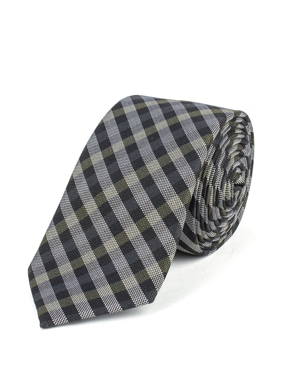 House Gingham Tie
