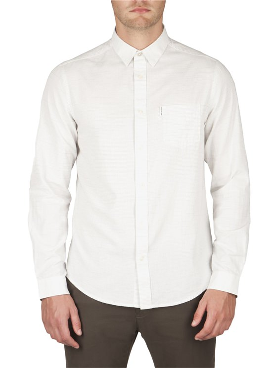 Semi Plain Pindot Shirt
