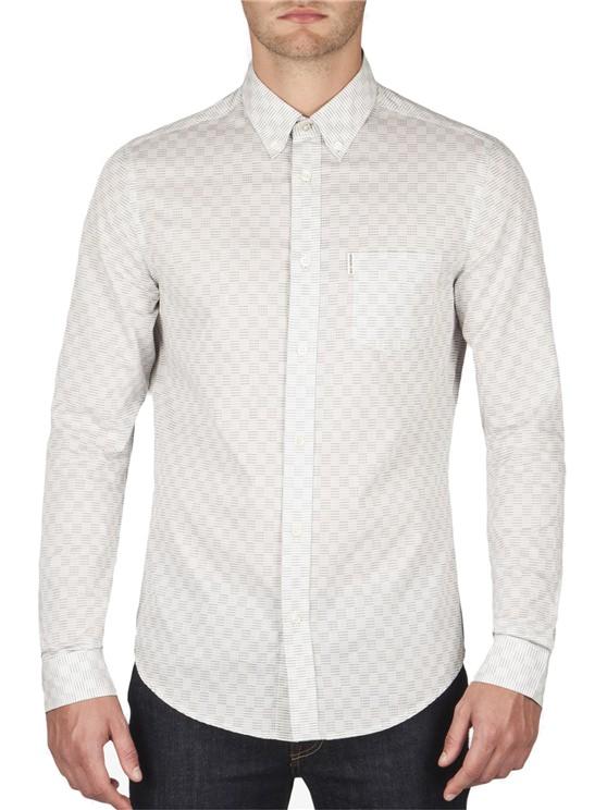 Pinstripe Checkerboard Shirt