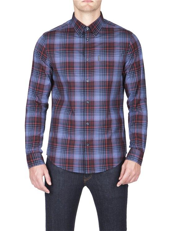 Herringbone Check Shirt