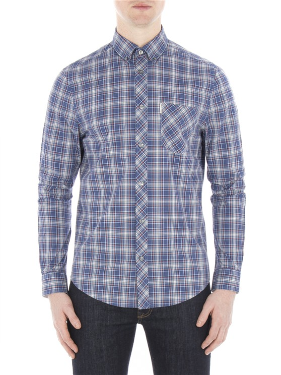 Long Sleeve Tartan Shirt