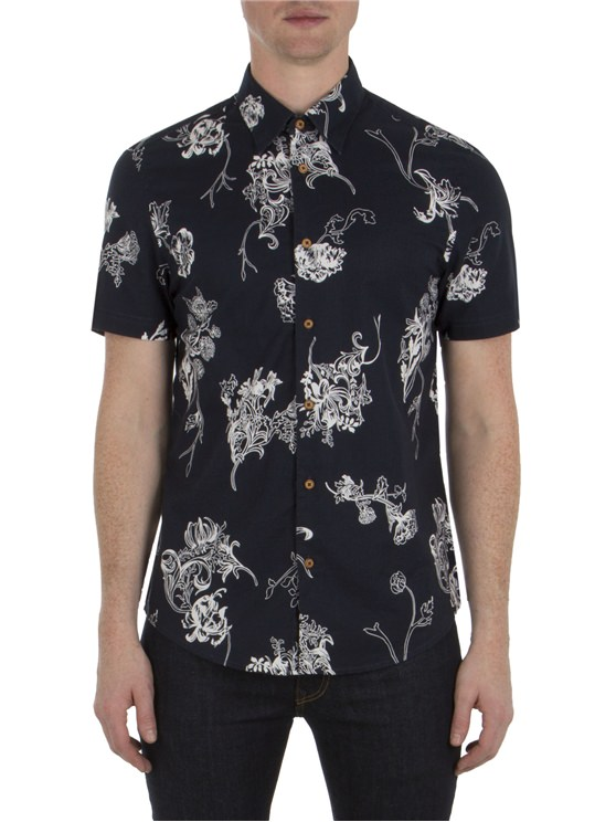 Short Sleeve British Hawaiian Shirt