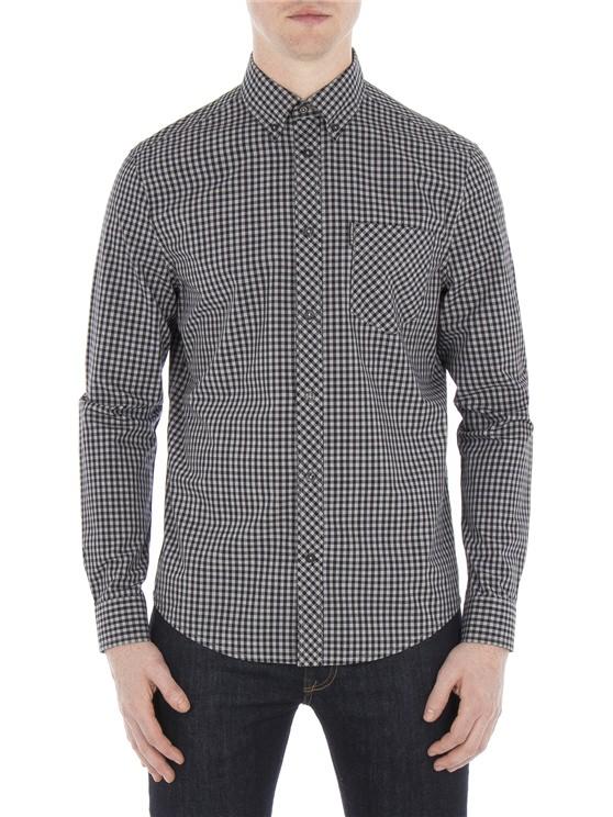Long Sleeve Core Gingham Shirt