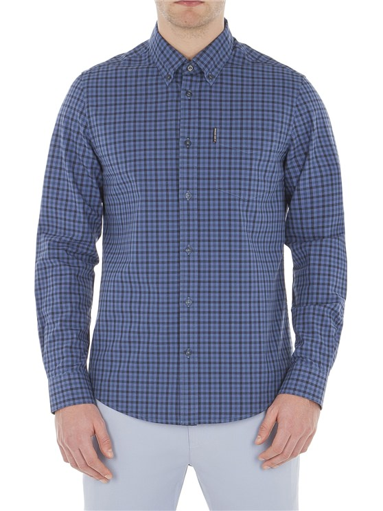 Long Sleeve House Gingham Check