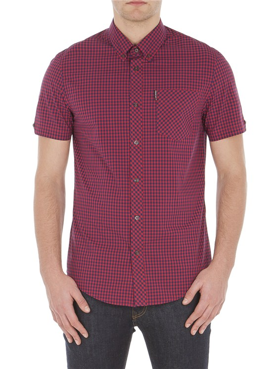 Short Sleeve Core Gingham