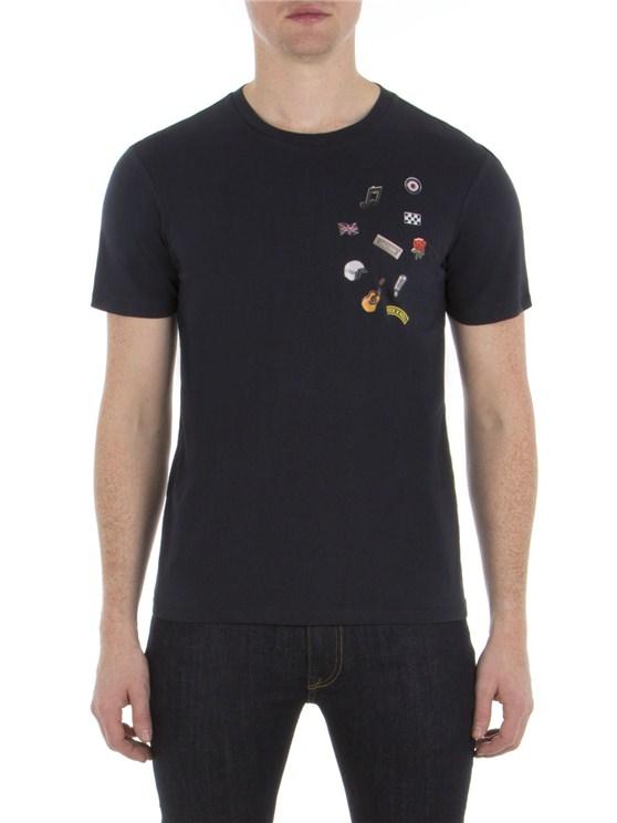 Pin Badge T-Shirt