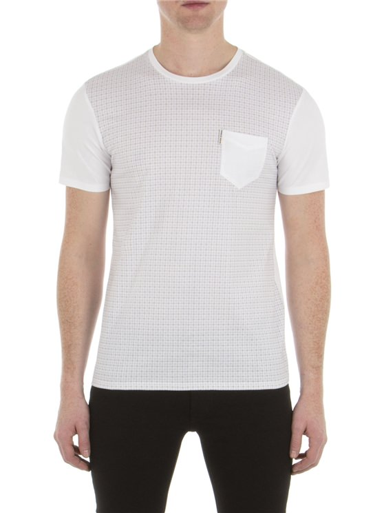 Gingham Front tee