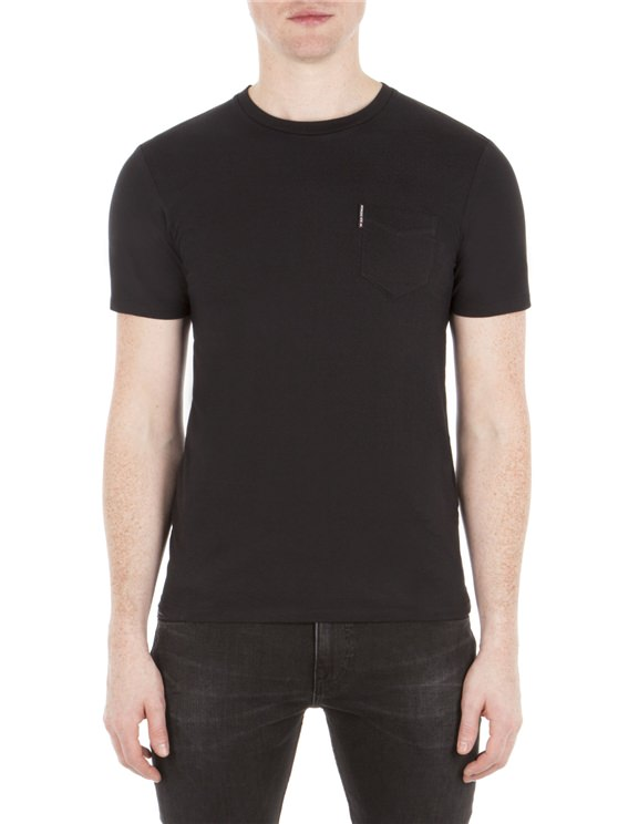 Classic Crew Neck Pocket Tee