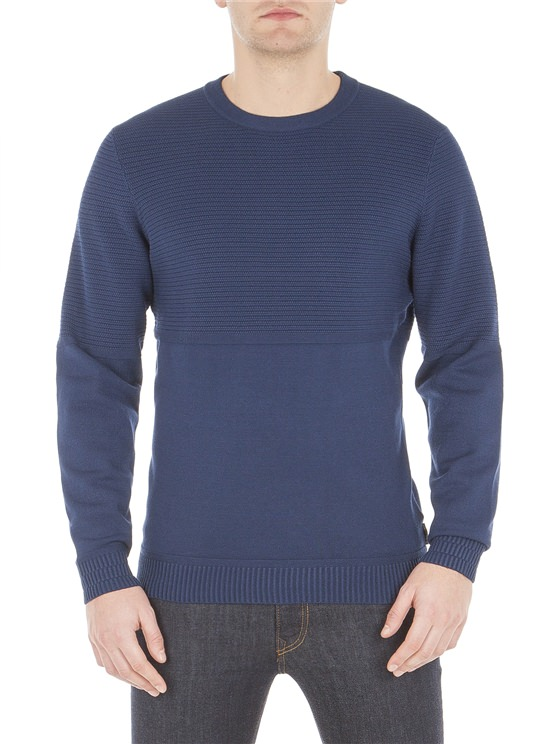 Placement Texture Crew Jumper