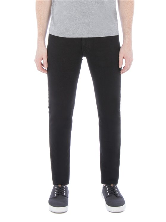 Holborn True Skinny Fit Black Jeans