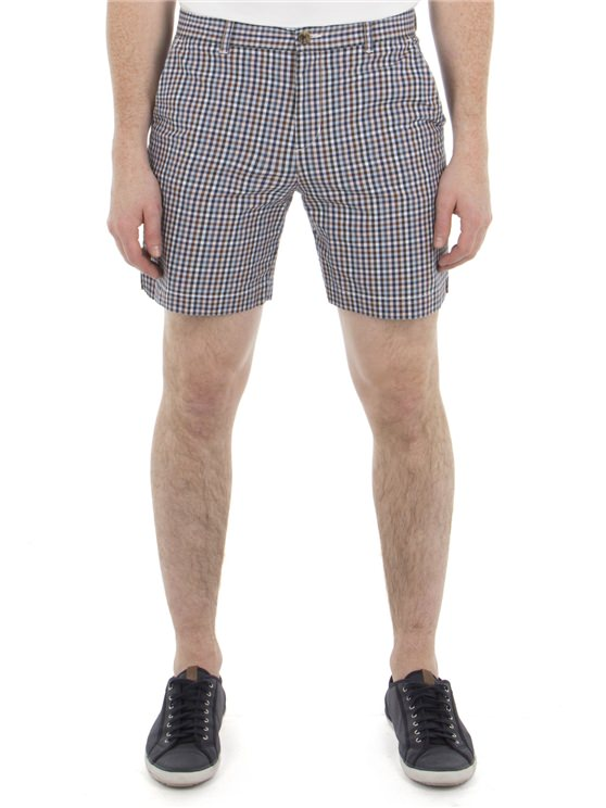 Multi Coloured Gingham Shorts