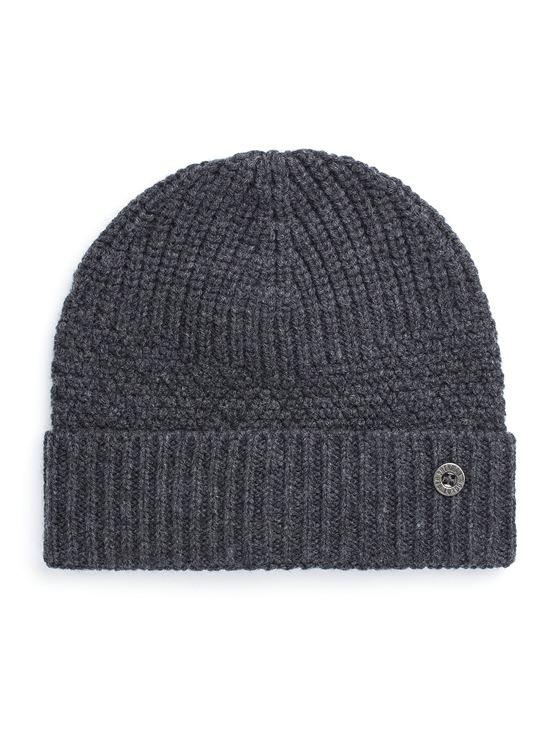 Textured Wool Beanie